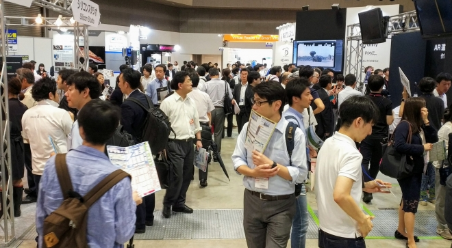 How Lemonade Vision presented itself at 3D & Virtual Reality Expo in Tokyo